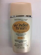 Maybelline Wonder Finish Liquid-to-Powder Foundation HONEY BEIGE (MEDIUM-4).