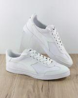 Diadora Scarpe Sportive Sneakers Sportswear lIfestyle PITCH Canvas Bianco