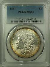 1887 Morgan Silver Dollar $1 Coin PCGS MS-62 VAM 11 (20) (C)