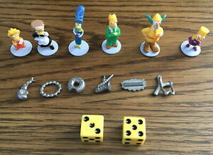 The Simpsons Clue Game Replacement Piece~ Slingshot Token