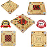 Carrom Board Game Wooden Professional Large Case Size Premium Fun Family Play