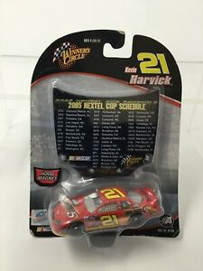 New Kevin Harvick #21 1:64 Hershey's Take 5  w/Nextel 2005 Schedule Replica hood