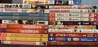 Mixed Manga Lot $5.99 Each Tokyopop Viz Graphic Novel