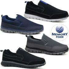 Mens Superlight Memory Foam Slip On Go Walk Summer Pump Casual Trainers Shoes Sz