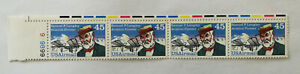 United States Samuel P. Langley Aviation Pioneer 45 Cent US Airmail Stamps x 4