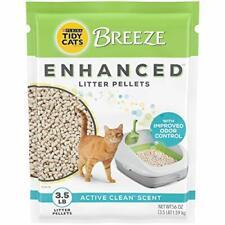 New listing Purina Tidy Cats Scented Litter Pellets, Breeze Enhanced Refill Litter Pellets