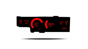 1978-1988 Oldsmobile Cutlass Digital Dash Panel Red LED Gauges Made In The USA