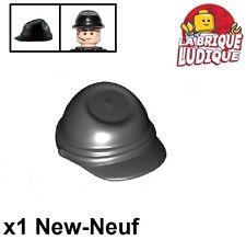 Lego - 1x Minifig headgear casquette cap cavalry kepi noir/black 30135 NEUF