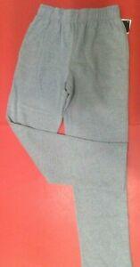 Boys Size XS,S,M Sweatpants REEBOK BLACK GRAY JERSEY Cotton Loose Fit Pants