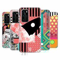 HEAD CASE DESIGNS PATTERN BLOCKING FASHION HARD BACK CASE FOR HUAWEI PHONES 1