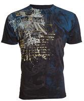 Archaic by Affliction Short Sleeve T-Shirt Mens CASCO Black S-3XL NWT