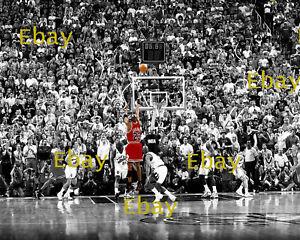 Michael Jordan Last Shot 8X10 Photo Reprint