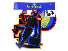 Top Secret Agent Detective Spy Kids Party Cutouts Decoration