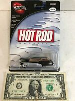Hot Wheels: 100% Hot Wheels - Hot Rod Series - Black Elwoody ~ 2002