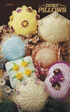 Doily Pillows, Annie's Crochet Pattern Club 87P40 30 Day Free Layaway!