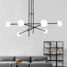 LED Diode Glass Ball Chandelier Bedroom Dining Living Room Loft Hall Interior