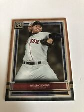 ROGER CLEMENS 2020 TOPPS MUSEUM COLLECTION COPPER BASE SP RED SOX