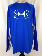 Under Armour CoolSwitch Thermocline Mens Shirt 2XL Size Loose Fish 1271474 907