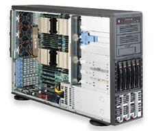 * * * * * SuperMicro SYS-8046B-TRF Tower/4U Rackmountable Barebone SuperServer