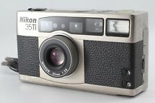 【Exc+++】 Nikon 35Ti 35mm Point & Shoot Film Camera w/ Instruction From JAPAN#163