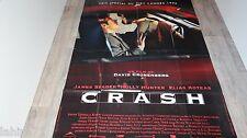 CRASH   ! david cronenberg  affiche cinema