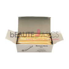 "144 pcs  4.5"" Manicure Cuticle Pusher Eyebrow Wax Wooden Sticks - PW2209 x1"