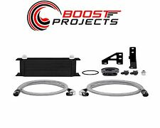 Mishimoto 2015 Subaru WRX Oil Cooler Kit - Black MMOC-WRX-15BK
