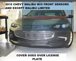 Lebra Front End Mask Bra Fits Chevy Chevrolet Malibu 2016-2018 Excluded Limited