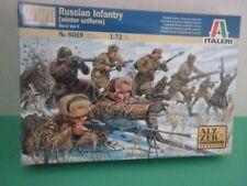 Italeri - Russian infantry (winter uniform-WWII) - 1:72 Soldatini su Sprue