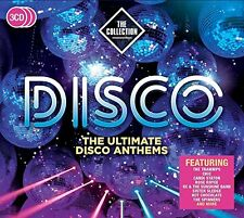 VARIOUS ARTISTS - DISCO: THE COLLECTION 3 CD SET (2017)