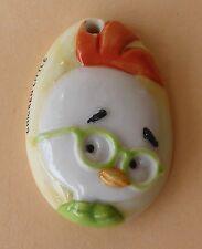 Fève Chicken Little - Disney 2006 - Médaillon Oeuf de Chicken