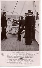 """""""1911,The Lads in Navy Blue,Sing a song in Praise of Jack the Sailor....RP/PC"""