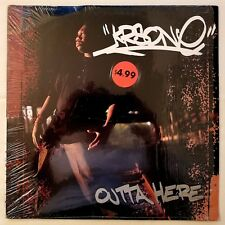 1993 - KRS-ONE - OUTTA HERE / I CAN'T WAKE UP - JIVE RECORDS ORIGINAL DJ PREMIER