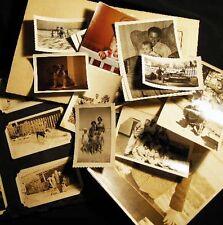 CIRCA WW II COLLECTION FAMILY BEACH ACTIVITIES MLITARY ITALY FLORIDA