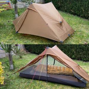Lanshan Pro 2 Person Ultralight Tent Camping Waterproof Backpacking 20D Silnylon