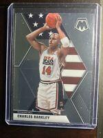 2019-2020 Panini Mosaic USA Charles Barkley HOF Basketball Card #252 Suns NBA SP