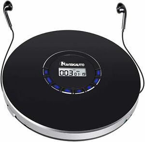 Portable CD Player, Small CD Player for Car, Compact Personal CD Rechargeable