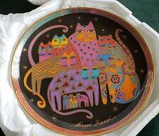 Laurel Burch Cat Plate Fabulous Felines 1994 Franklin Mint Ltd Ed Numbered