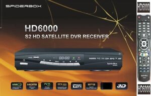 Spiderbox 6000 HD PVR Refurbished with My Latest Channel List and Backup Service