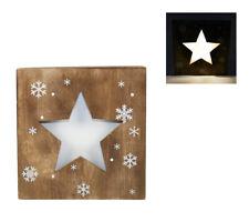 Quadro Natalizio Luminoso Stella