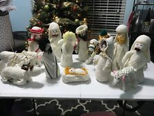 Handmade Crochet Nativity