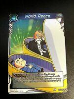 Dragon Ball Super World Peace Foil UC BT5-119 Mint DBS