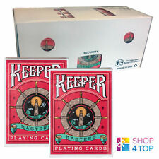 ELLUSIONIST KEEPER MASTERS 12 DECK SEALED BOX PLAYING CARDS BICYCLE MAGIC TRICKS