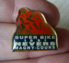 PIN'S MOTO COURSE SUPERBIKE CIRCUIT NEVERS MAGNY COURS 1991