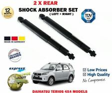 FOR DAIHATSU TERIOS 4X4 2005->on REAR AXLE LEFT and RIGHT SHOCK ABSORBERS SET