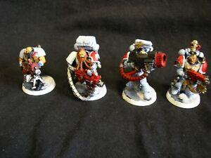 Warhammer 40k Space Wolves Long Fangs Devastator Squad Miniatures Painted