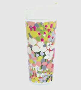 NWT Kate Spade New York Insulated Travel Mug Tumbler 16 oz. Floral Dot