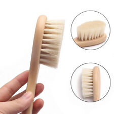 Newborn Natural Safety Wooden Comb Baby Soft Hair Brush Head Comfort Massager