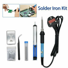Solder 9 Pieces Set Soldering Iron Kit 60w 220 Volt Best for Small Electric Work