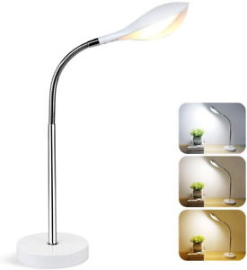 Depuley LED Desk Lamp, 5W Dimmable Table Lamp,Touch Control, Eye-Caring Flexible